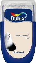 Dulux Natural Wicker emulsion tester
